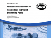 ANSI Residential Inground Swimming Pools