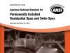 ANSI Permanently Installed Residential Spas