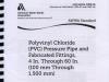 AWWA Standard for PVC Pressure Pipe