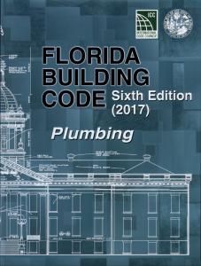 florida building code plumbing 2017