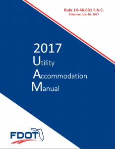utility accommodation manual
