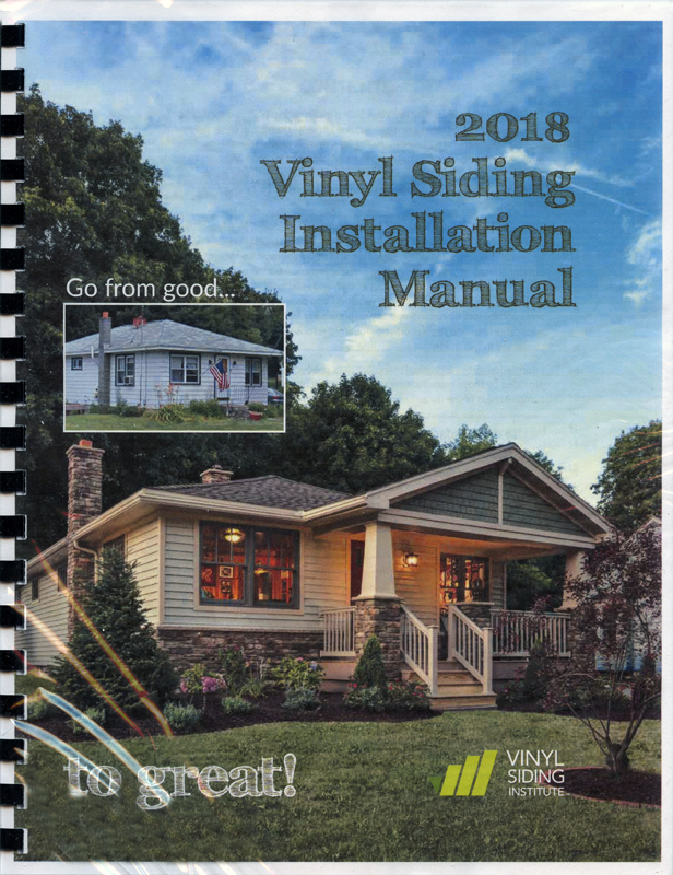 Vinyl Siding Installation Manual A How To Guide