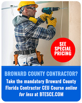 Online Florida Contractor CEUs Now Available!
